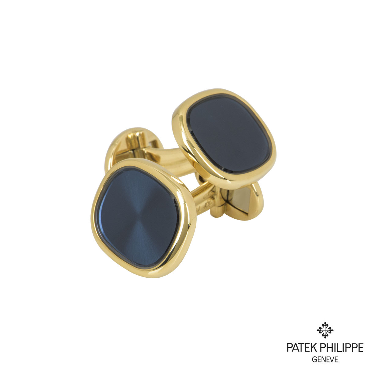 Patek Philippe Yellow Gold Ellipse Cufflinks